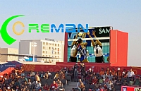 HD high brightness pixel pitch 10mm stadium led display in Oman