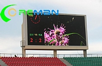 Big stadium led display in Congo